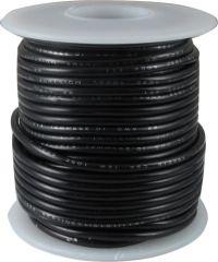 Kabel jednożyłowy czarny 0,35mm2 Hook-up