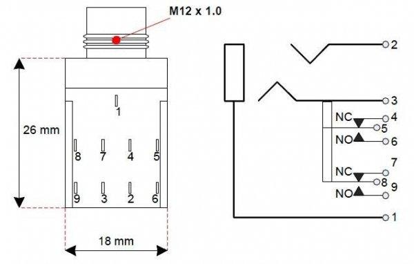 Gniazdo Jack 6,3mm Fender stereo
