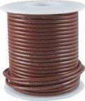 Kabel jednożyłowy Hook-up brązowy 0,35mm2 solid