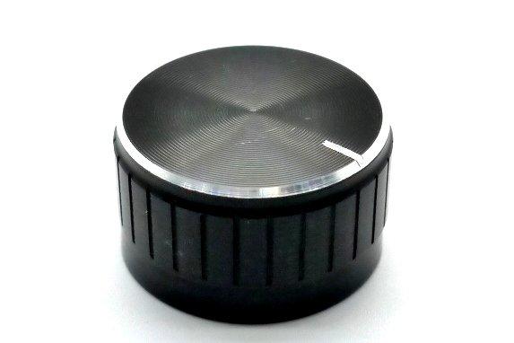 Gałka czarna 26x17