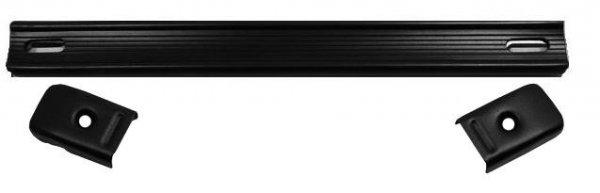 Rączka paskowa, czarna styl Fender