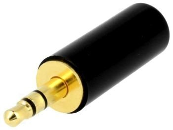 Wtyk Jack stereo 3,5mm Gold Cliff