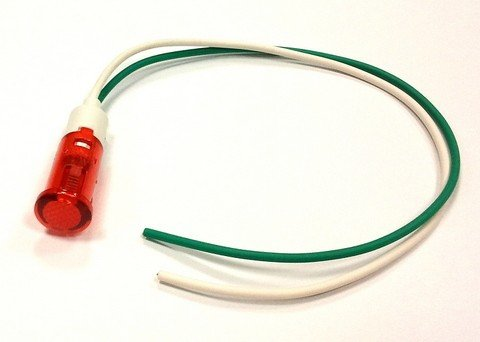Lampka / kontrolka, czerwona x11