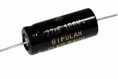 Kondensator 33uF 100V CFT F&T bipolarny