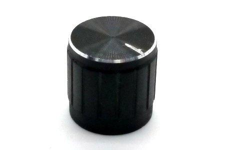Gałka czarna 17x17