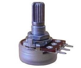 Alpha 250k/A logarytmiczny (10mm)