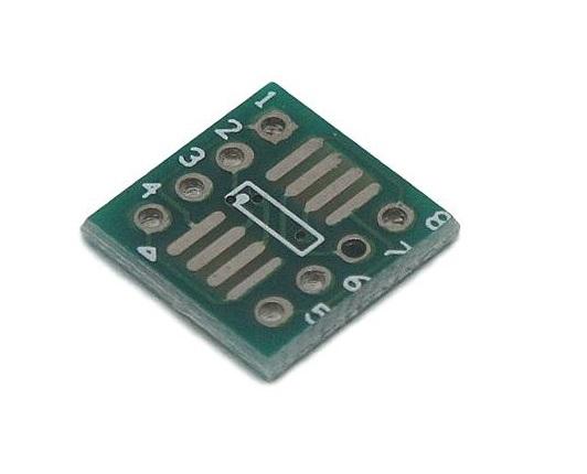 Adapter PCB SO8 - DIP8