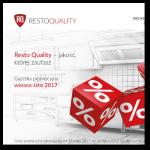 Resto Quality – jakość, której zaufasz Gazetka promocyjna wiosna-lato 2017