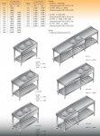 Stół zlewozmywakowy 2-zbiornikowy lo 233 - 2200x600