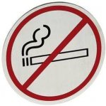 Tabliczka informacyjna samoprzylepna na drzwi - zakaz palenia zakaz palenia