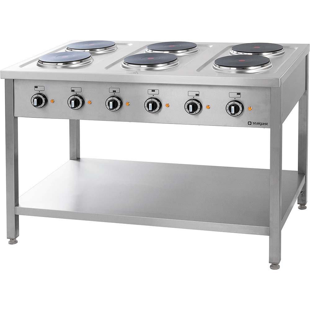 Kuchnia Elektryczna Wolnostojąca 6x25 Kw