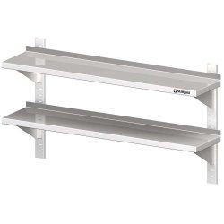 Półka wisząca, przestawna,podwójna 1300x300x660 mm