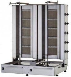 Gyros   opiekacz gazowy do kebaba podwójny   wsad 160kg  KLG225-T