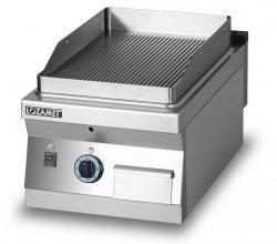 Grill płytowy gazowy-płyta ryflowana L900.GPG450R Lozamet