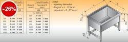 Basen wysoki przyścienny lo 408 - 1000x600 g300