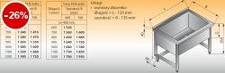Basen wysoki przyścienny lo 408 - 600x600 g400