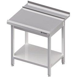 Stół wyładowczy(P), z półką do zmywarki STALGAST 1200x750x880 mm skręcany