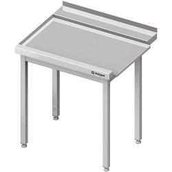 Stół wyładowczy(L), bez półki do zmywarki STALGAST 1400x750x880 mm skręcany
