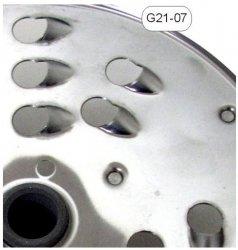 Tarcza nierdzewna wiórki 12mm - G21-07