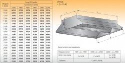 Okap centralny z oświetleniem lo 911 - 2800x1600