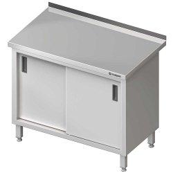 Stół przyścienny z drzwiami suwanymi 1900x600x850 mm