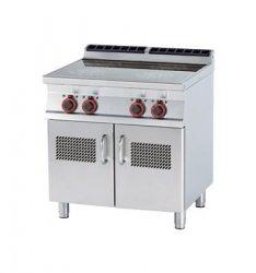 Kuchnia elektr. indukcyjna zszafką RM Gastro PCI - 78 ET