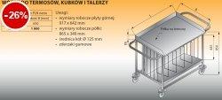 Wózek do termosów, kubków i talerzy lo 817 - 925x650