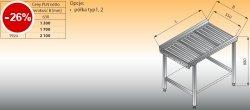 Stół przelotowy z rolkami lo 370 - 1440x630 Lozamet