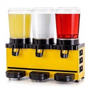 Schładzacz do napojów | dyspenser napojów | 10 l + 10 l + 10 l | Panoramic MMM30.AY