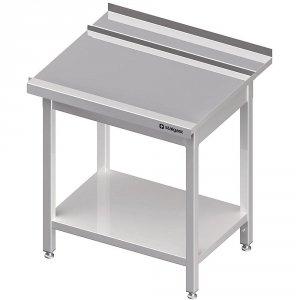 Stół wyładowczy(P), z półką do zmywarki STALGAST 1000x750x880 mm skręcany