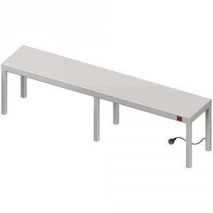 Nadstawka grzewcza na stół pojedyncza 1900x300x400 mm