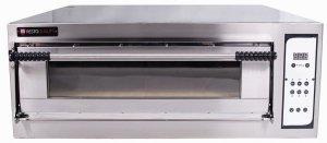 Piec elektryczny piekarniczy modułowy szamotowy z podwyższaną komorą | 4x600x400 | BAKE D6H