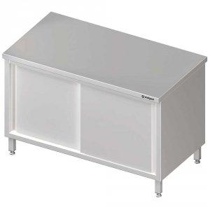 Stół centralny,przelotowy z drzwiami suwanymi 1500x700x850 mm