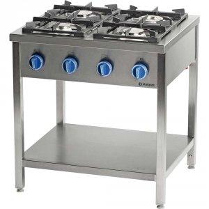Kuchnia gazowa wolnostojąca 4 palnikowa z półką 20,.kw - g30 (propan-butan)