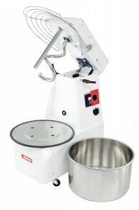Miesiarka do ciasta spiralna z podnoszonym hakiem i wyjmowaną dzieżą RQT 20 litrów 400V