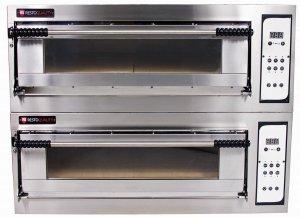 Piec elektryczny piekarniczy modułowy szamotowy | 8x600x400 | szeroki | BAKE D66/L (TRD66/L)