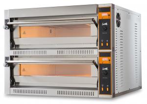 Piec do pizzy elektryczny | dwukomorowy | 12x36 | TOP D 66 XL (TecproD66)