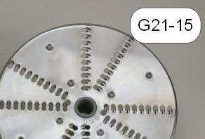 Tarcza nierdzewna wiórki 5mm - G21-15