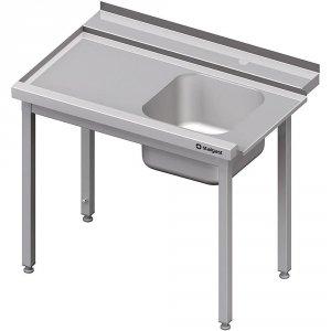 Stół załadowczy(L) 1-kom. bez półki do zmywarki STALGAST 1100x750x880 mm skręcany