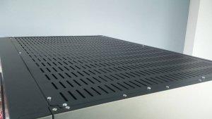 Górna pokrywa z otworami | akcesoria do szafy do sezonowania ZERNIKE | KGRISUP