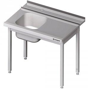 Stół załadowczy(P) 1-kom. bez półki do zmywarki STALGAST 1200x750x880 mm spawany