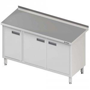 Stół przyścienny z drzwiami skrzydłowymi 1400x700x850 mm
