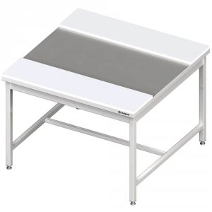 Stół centralny z płytami polietylenowymi 1900x1200x850 mm spawany