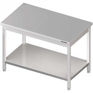 Stół centralny z półką 1900x700x850 mm skręcany