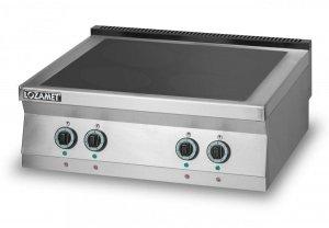 Kuchnia elektryczna z płytą ceramiczną 4-polową L700.KEC4 Lozamet