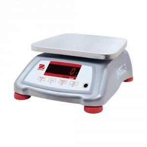 waga pomocnicza, wodoodporna, stal nierdzewna, zakres 15 kg, dokładność 2 g