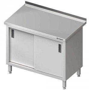 Stół przyścienny z drzwiami suwanymi 800x600x850 mm