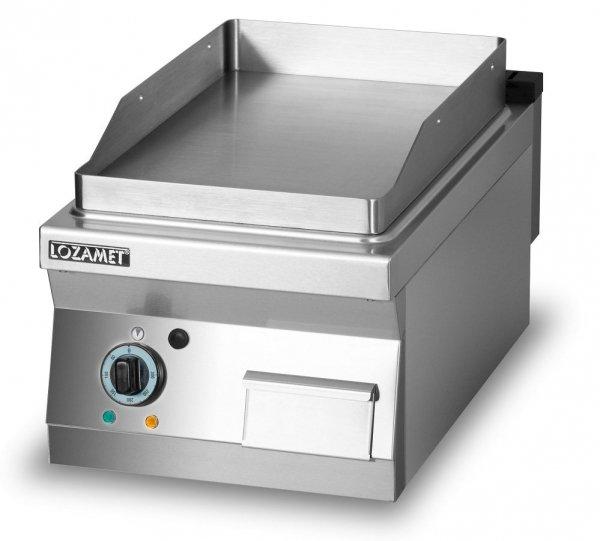 Grill płytowy elektryczny - płyta gładka L700.GPE400G Lozamet