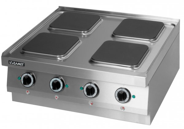 Kuchnia elektryczna 4 płytowa (płyty kwadratowe) leh.410 Lozamet