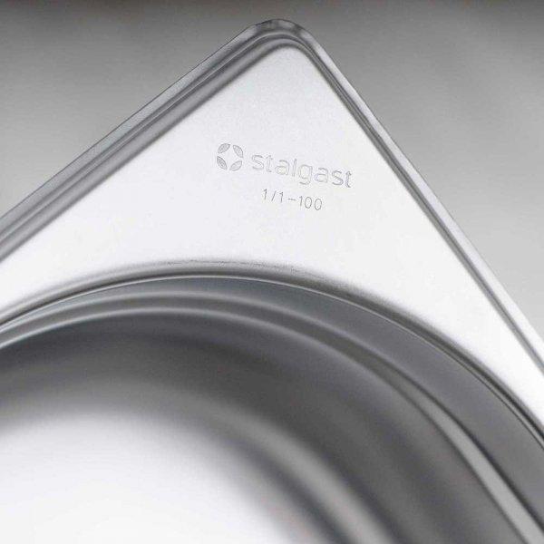 pojemnik stalowy, GN 2/1, H 20 mm